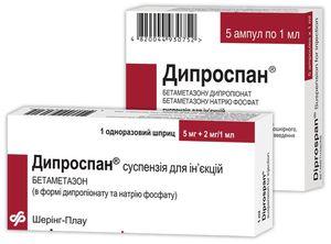 Дипроспан инструкция по применению уколы при аллергии на амброзию