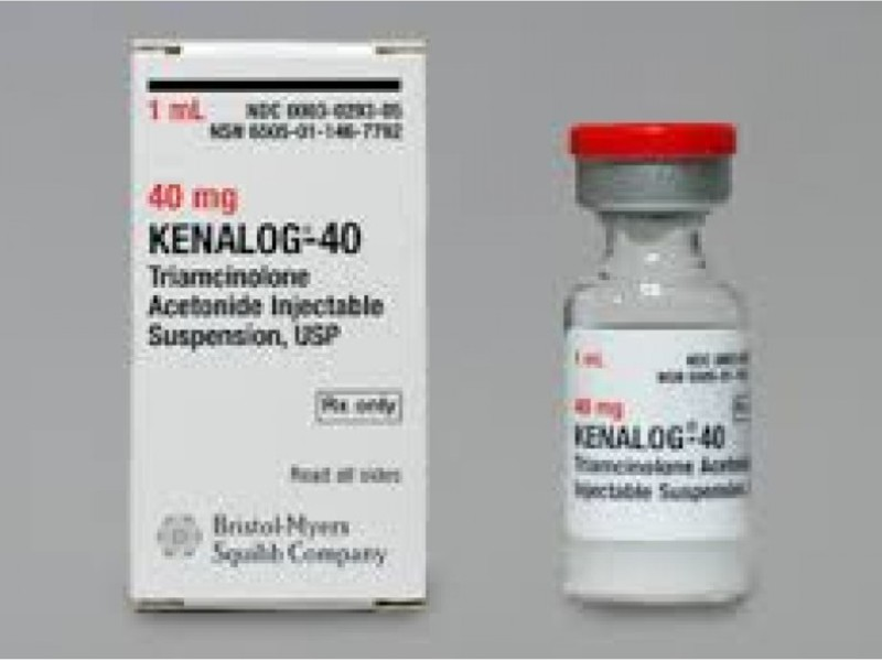 how to mix kenalog and lidocaine