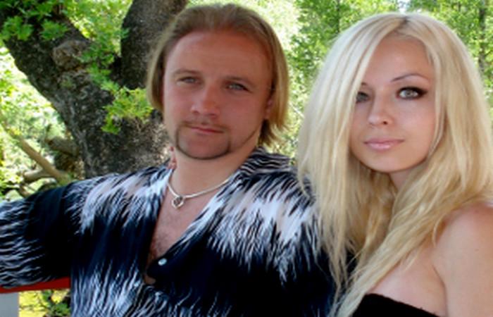 Валерия Лукьянова с мужем
