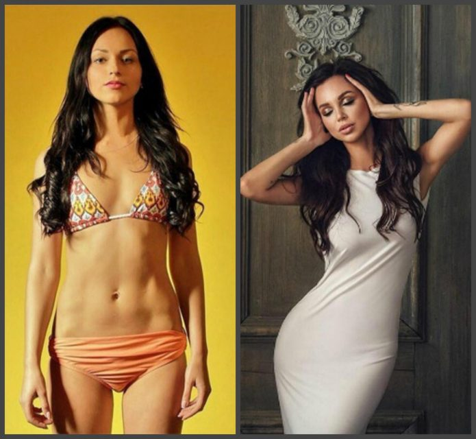 Анастасия Лисова до и после пластики тела