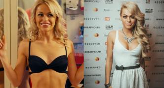 Анна до и после коррекции груди