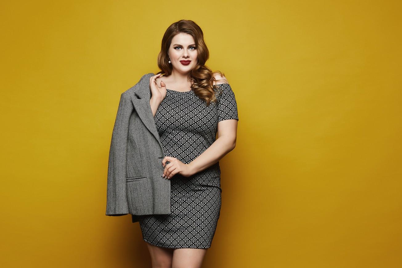 5 модных акцентов для женщин Plus Size