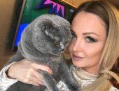 Дарья Пынзарь с котом
