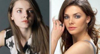 Елизавета Боярская: фото до и после