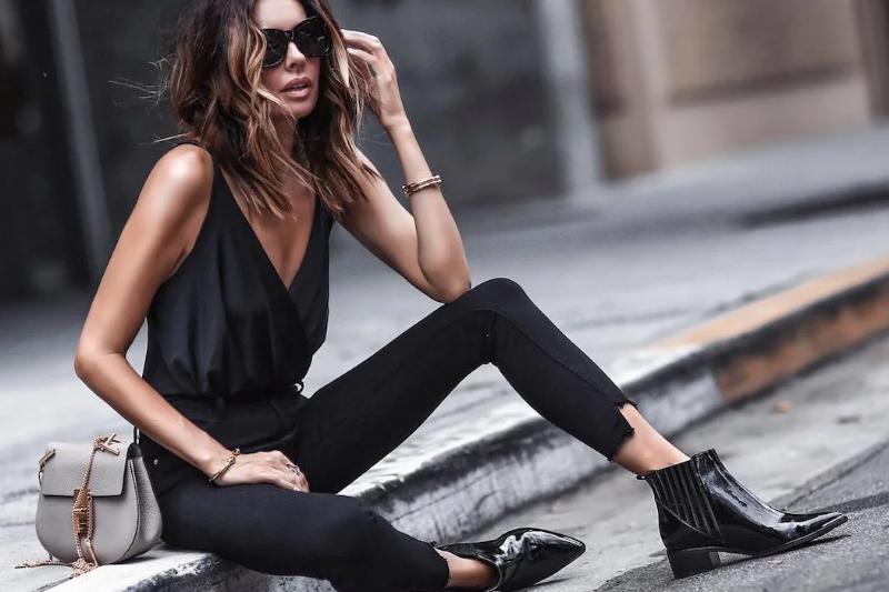 Как разбавить строгий черный цвет, чтобы образ получился стильным