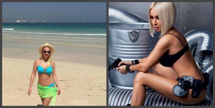 Лера Кудрявцева до и после липосакции