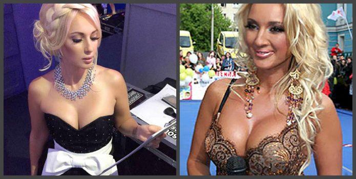 Лера Кудрявцева до и после пластики груди