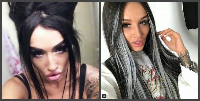 Марина Мексика до и после пластики