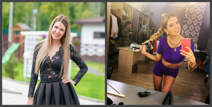 Майя Донцова до и после пластики