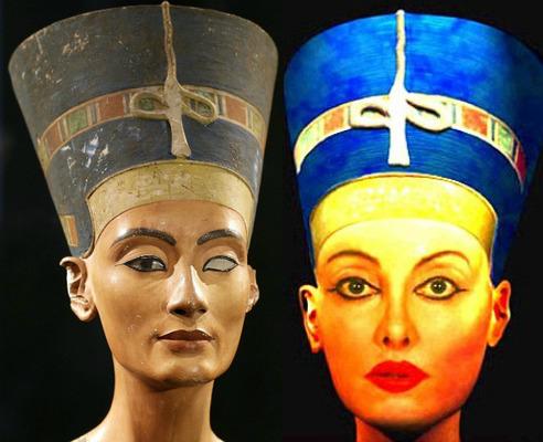 Нефертити и Найлин Намита