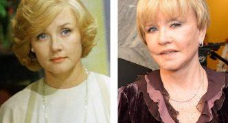 Фото Веры Алентовой до и после пластики