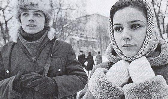 Марина Зудина в молодости