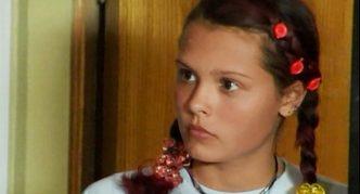 Мария Горбань в 13 лет
