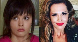 Мария Горбань до и после пластики