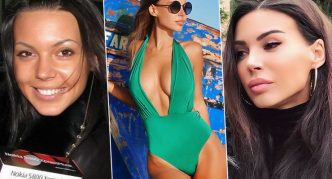 Оксана Самойлова до и после пластики
