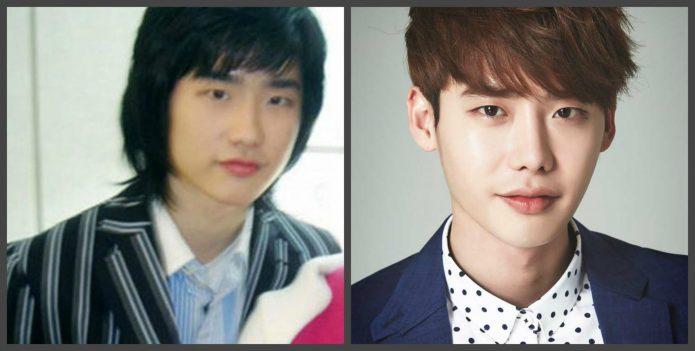 Ли Чон Сок до и после пластики