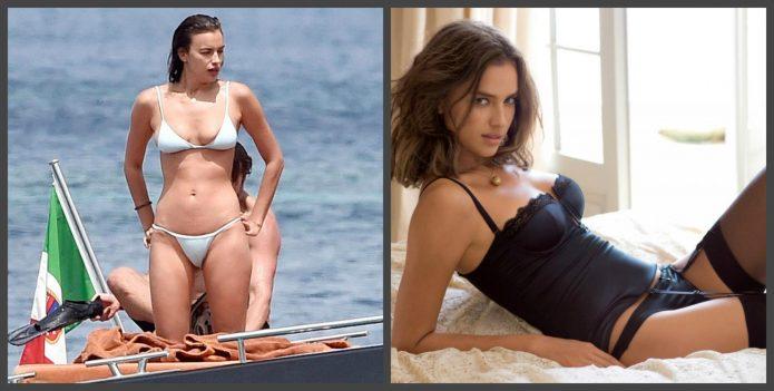 Ирина Шейк до и после пластики