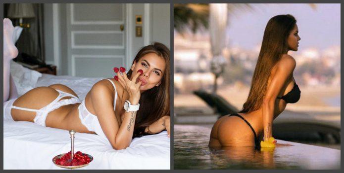 Виктория Одинцова до пластики и после