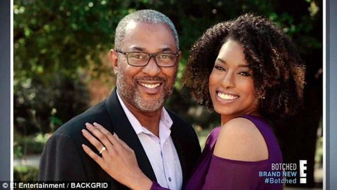 Келли Джонсон с супругом