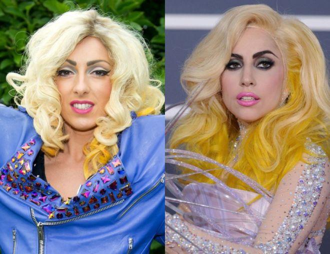 Леди Гага и Донна Мари Трего