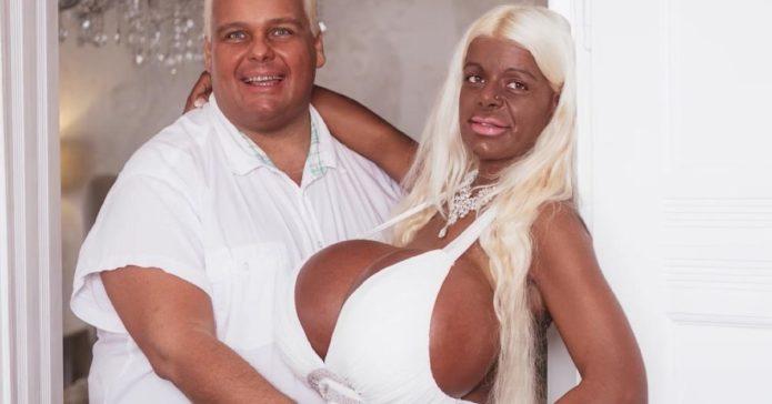 Мартина Биг с женихом