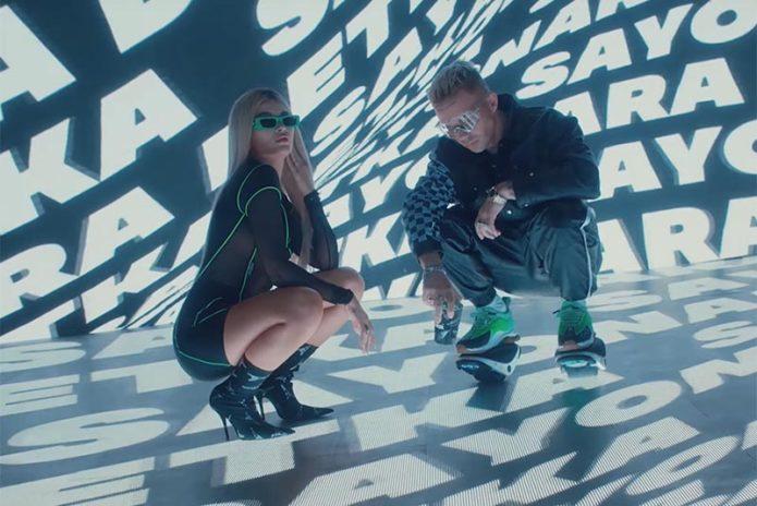 Кадр из клипа «Sayonara Детка»
