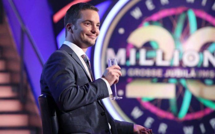 Счастливый Ян Штро на шоу «Кто хочет стать миллионером?»