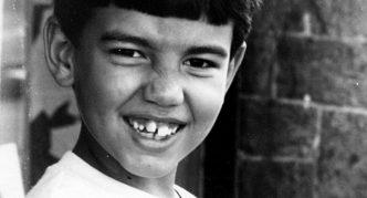 Родриго в детстве