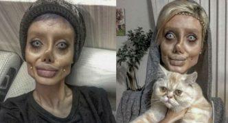 Сахар Табар, фото с гримом