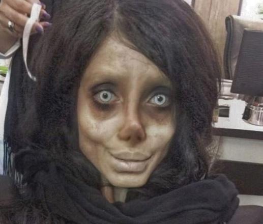 Сахар Табар, фото в образе