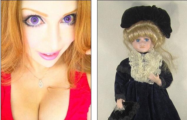 Ванилла Чаму и фарфоровая кукла
