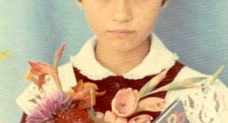 Виктория Боня в детстве