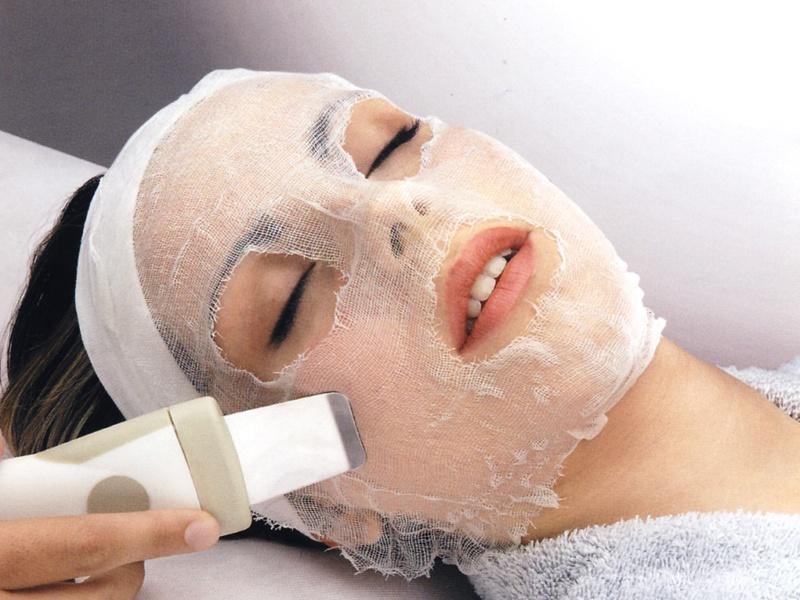 Ультразвуковая чистка лица фонофорез
