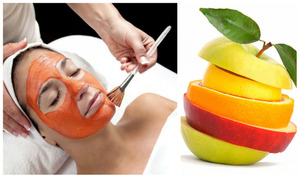 Качественная и безопасная очистка лица с помощью фруктового пилинга