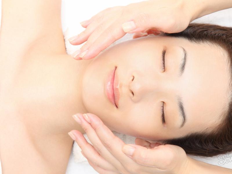 Японский масаж лица