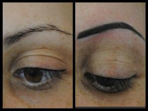 Зона применения перманентного макияжа