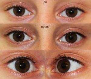 Виды татуажа глаз